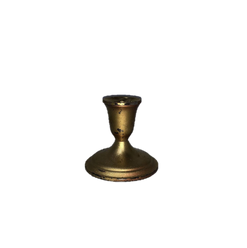 Gold Brass Taper Candle Holder