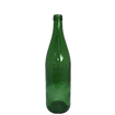 Green Glass Bottle Vase