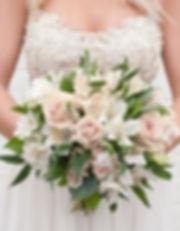 Blush and Neutral Naturals bridal bouquet