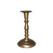 Gold Brass Taper Candlestick Holder