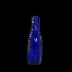 Cobalt Blue Glass Wine Bottle