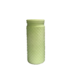 Mint Green Hob Nail Ceramic Vase