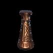 Rose Gold Painted Bud Vase/Taper Candle Holder