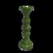 Green Pillar Candle Stick Holder - Shortest