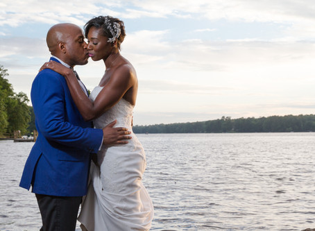 Kaili + Aquil: A Waterside Wedding