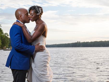 Kaili + Aquil: A Waterside Wedding