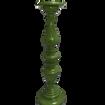 Green Pillar Candle Stick Holder - Tallest
