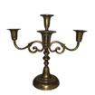 Gold Brass 4 Holder Candelabra