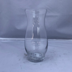 Small Tulip Shaped Bud Vase Glass