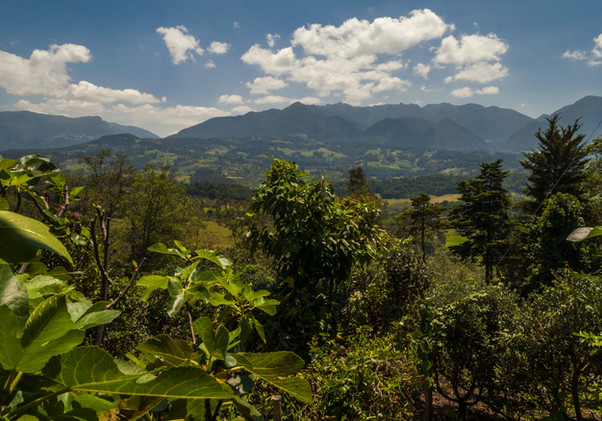 Vista santuario de Iguaque Glamping Finc