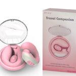 Mini Estimulador Feminino Recarregável com 5 Modos de Sucção e 10 Modos de Vibra
