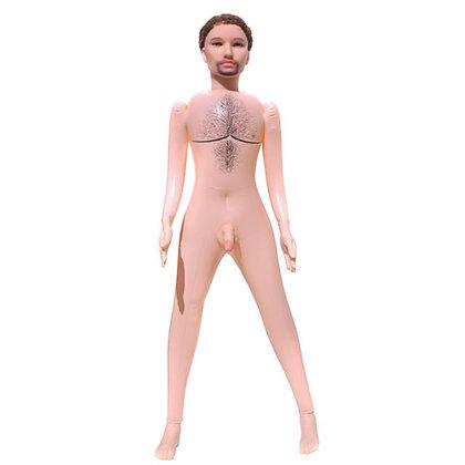 Boneco Inflável com Pênis Realístico e Vibração