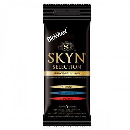 Preservativo Blowtex Skyn - Selection 3 em 1