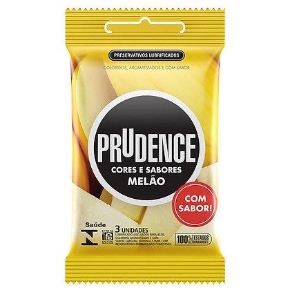 Preservativo Melão Com 3 Unidades Prudence