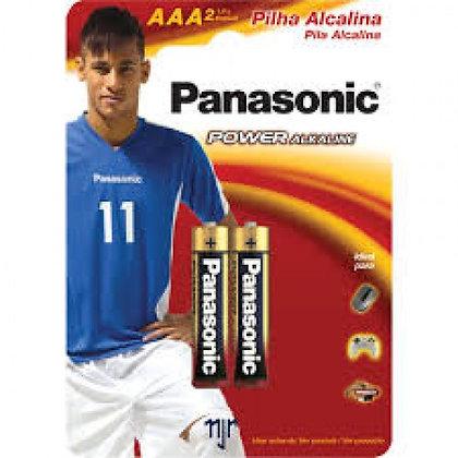 Pilha Palito Alcalina Panassonic AAA