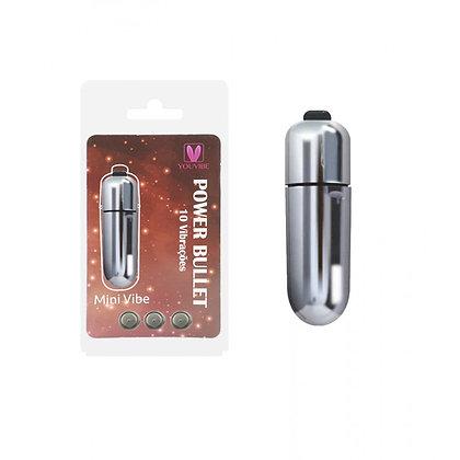 Cápsula Power Bullet - Mini Vibe 10 vibrações