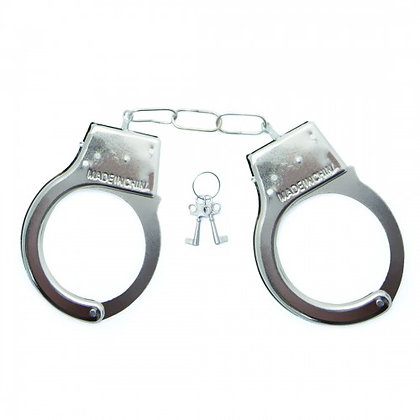 Algema em Metal Hand Cuffs