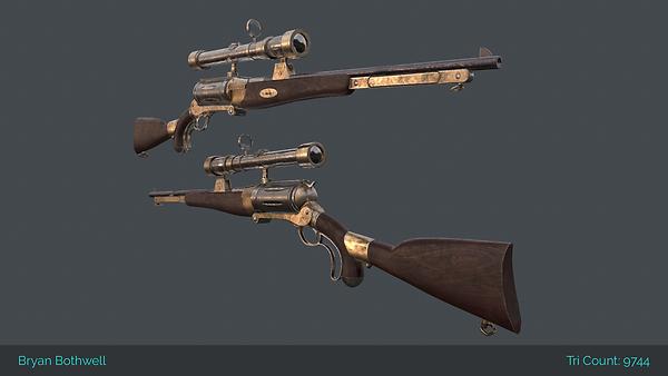 3D Rifle