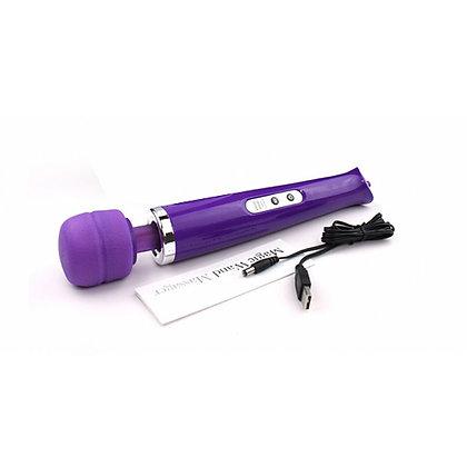 Massageador Varinha MagicaRecarregável 10 vibrações