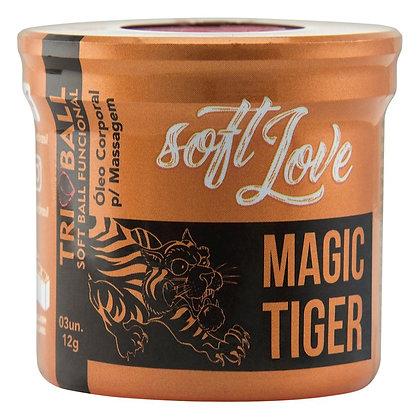 Soft Ball Triball Magic Tiger 03 Unidades Soft Love