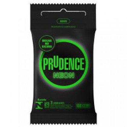 Preservativo Neon 03 Unidades Prudence