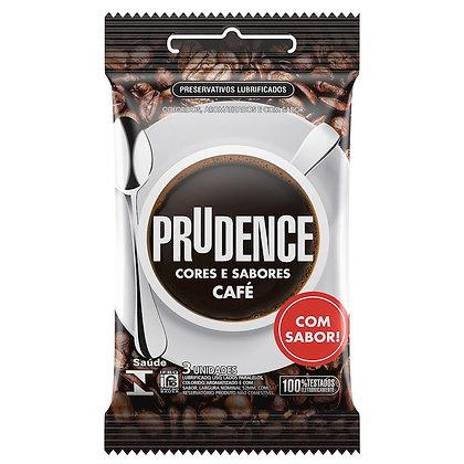 Preservativo Café Com 3 Unidades Prudence