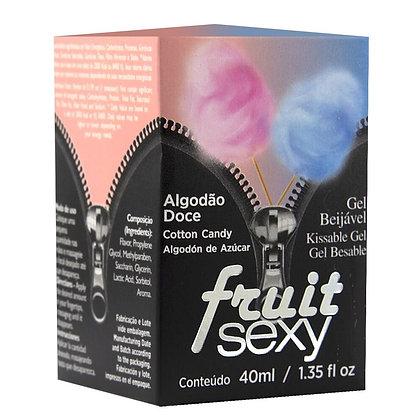 FRUIT SEXY GEL COMESTÍVEL ALGODÃO DOCE 40ML INTT