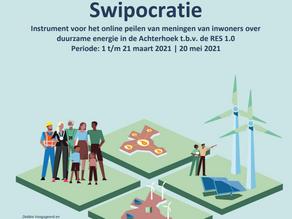 Uitslag 'swipocratie': Grote meerderheid Achterhoekers tegen windturbines