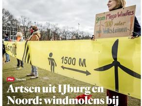 Artsen: Windturbines maken omwonenden wel degelijk ziek