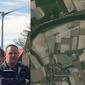 Dit zijn windmolens in de Hoeksche Waard. 's Avonds en 's nachts, dan is het het ergst
