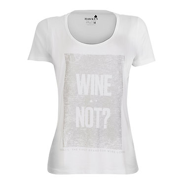 Camiseta Fem. Wine Not Hawke's