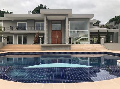 Área externa casa - Cond. Flamboyant