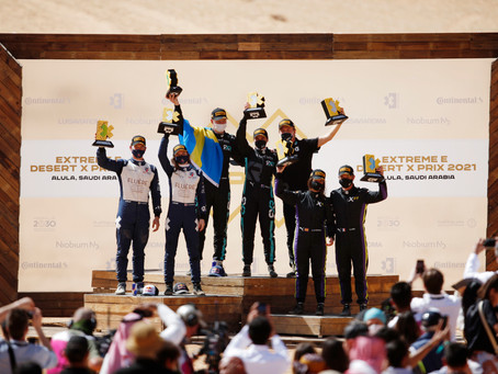 Rosberg X Racing Wins First-Ever Extreme E Event