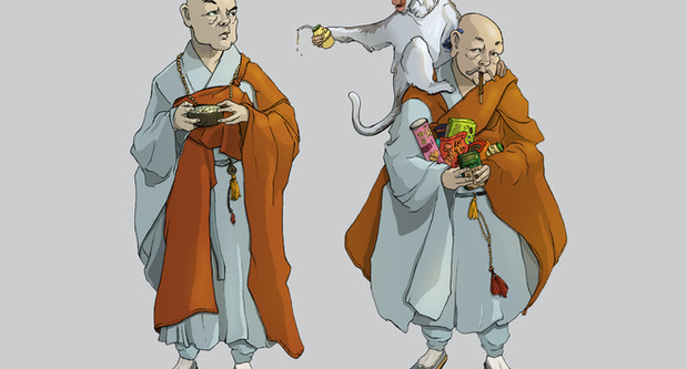 A Tale of Monkey and Monks