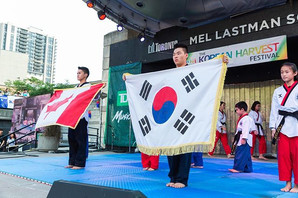Since 2001, the Korean Harvest Festival