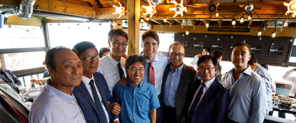 Visit from Prime Minister Justin Trudeau