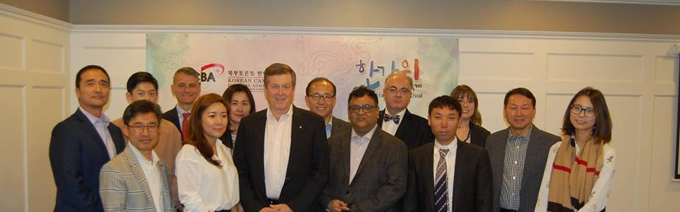 Meeting with Mayor John Tory