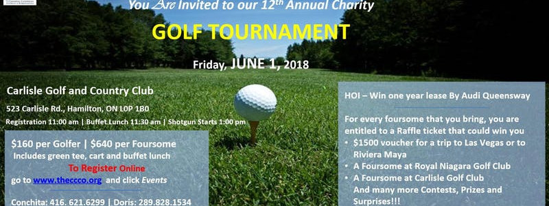 CCCO Golf Tournament Fundraiser