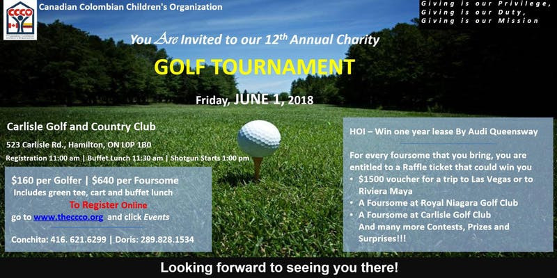 CCCO Golf Tournament Fundraiser