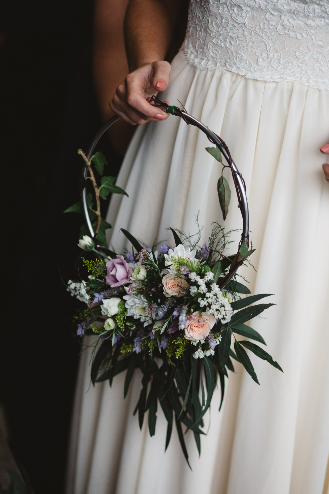 Bridesmaid Hoop Flowers Posybloom