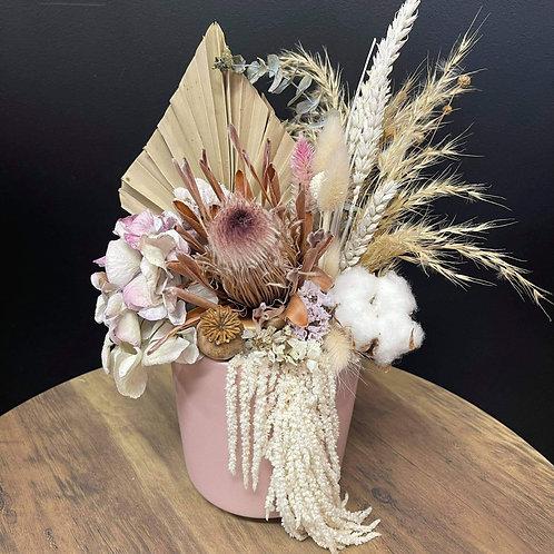 """Samara"" Dried floral arrangement"