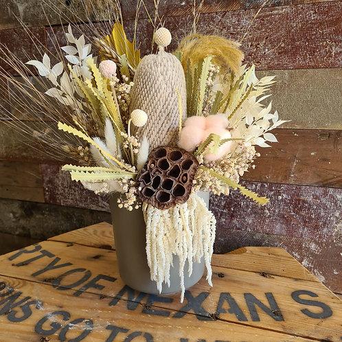 """""""Hazel"""" Dried floral arrangement"""