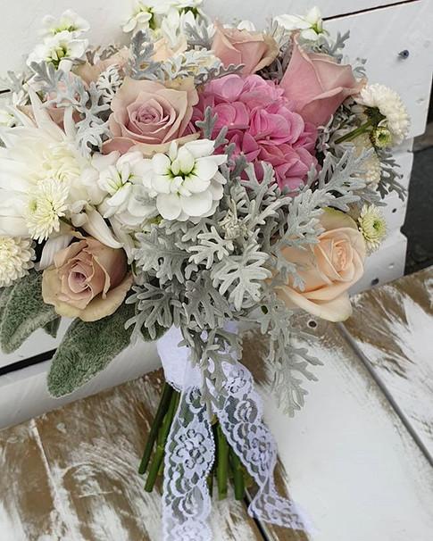 Soft vintage Bridal bouquet