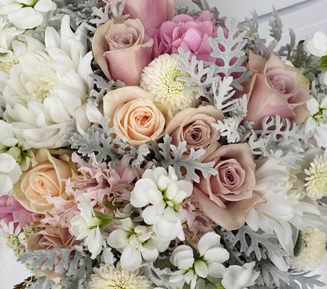 Pastel vintage bridal bouquet