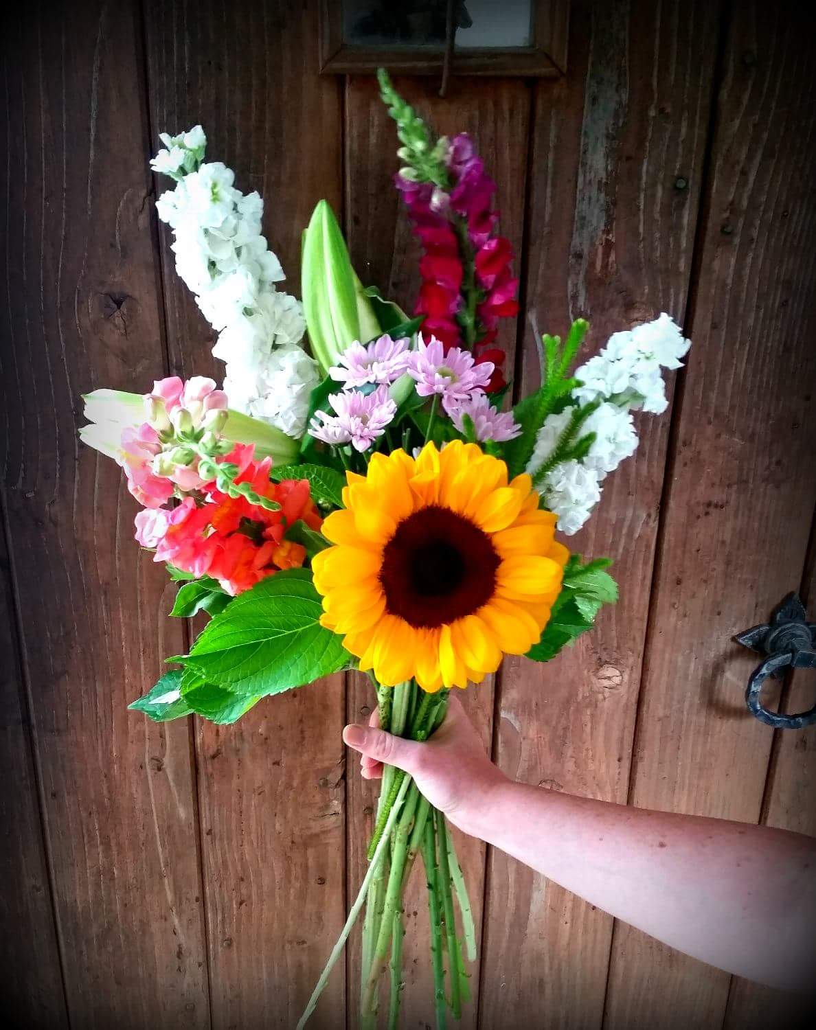 Bright hand tied bouquet - Posybloom