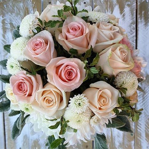 Classic Pastel Rose Bouquet