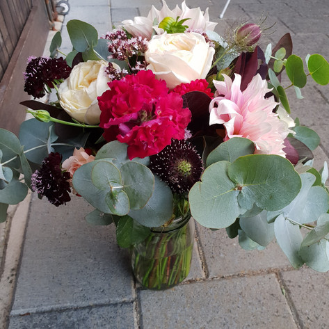 Bridesmaid Bouquet - February Wedding