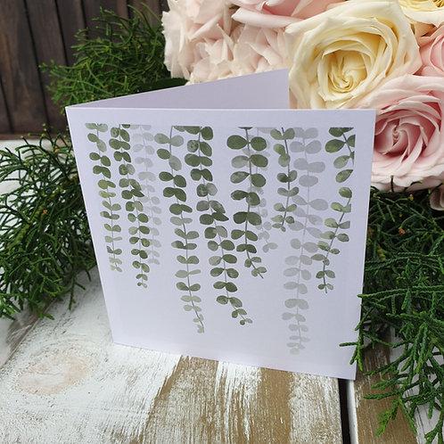 Trailing leaves card