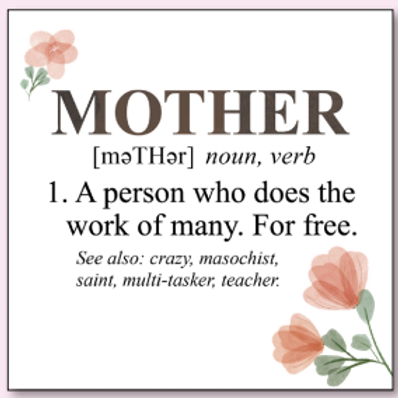 """MOTHER"" card"