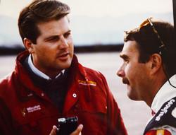Nigel Mansell '93 Indy Car Test